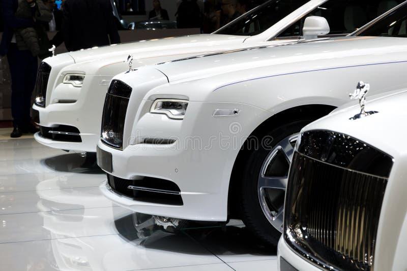 Carros de Rolls Royce foto de stock royalty free