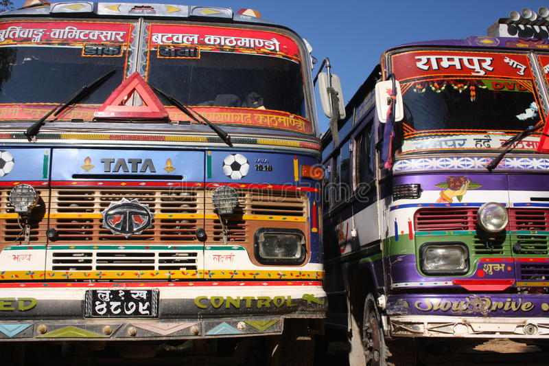 Carros de Tata imagen de archivo