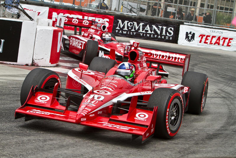 Carros do alvo na Long Beach 2011 Prix grande imagens de stock royalty free