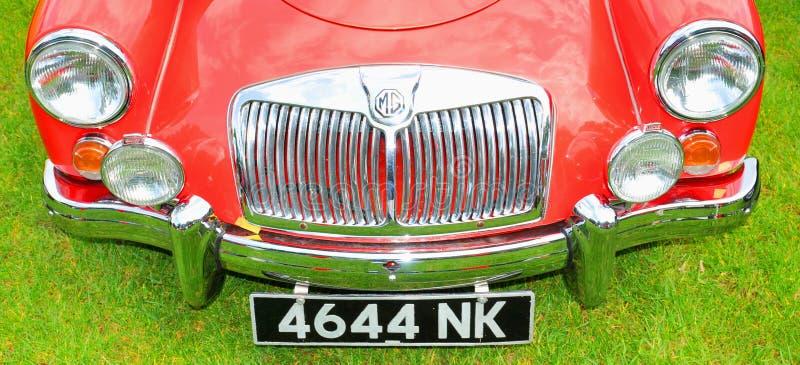 Carros do vintage de MG foto de stock