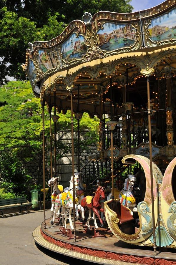 Carrossel de Montmartre - Paris fotografia de stock royalty free
