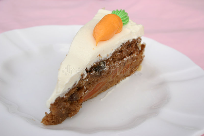 Download Carrot cake stock image. Image of delicious, calories - 2443975
