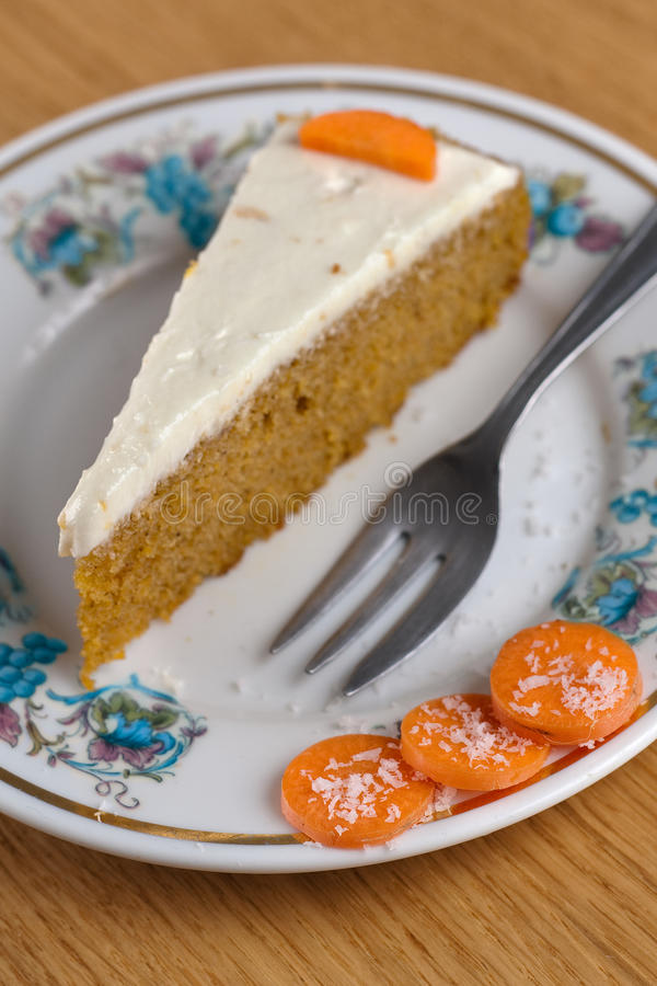 Carrot Cake IV Stock Images