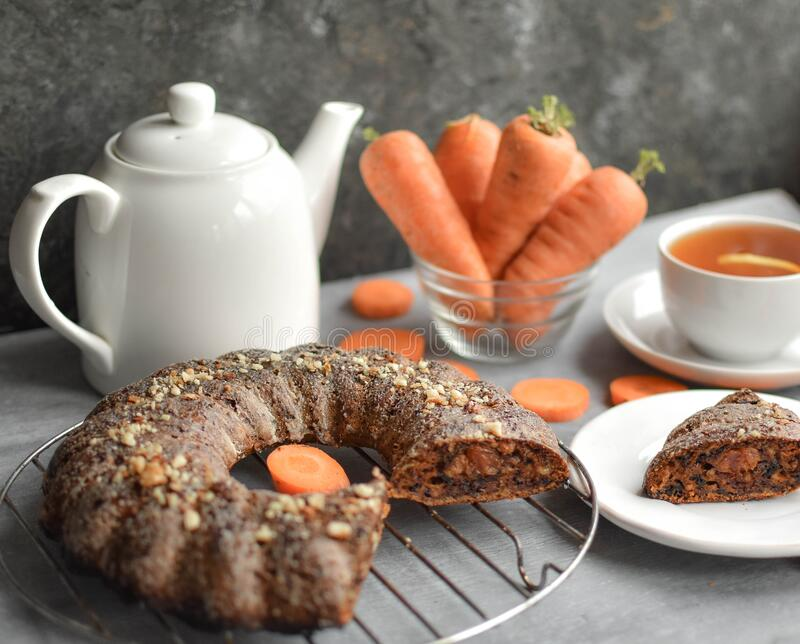 Carrot cake never goes out of fashion, and you know why? This wet, carrot-saturated muffin with nuts has a stunning taste, and in. A duet with cream, it exceeds stock photos