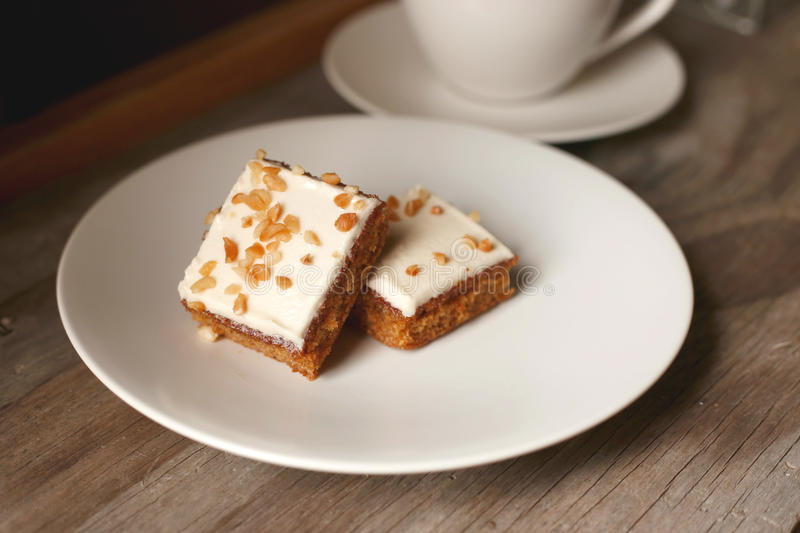 Download Carrot Cake stock image. Image of plate, ingredients - 31408123