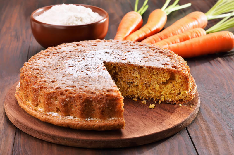 Download Carrot cake stock photo. Image of confectionery, bake - 44164182