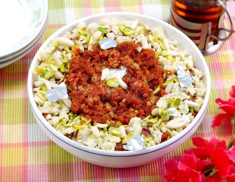 Carrot Halwa or Gajar Halwa stock images