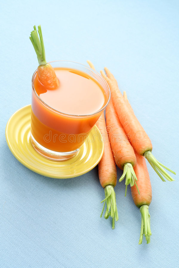 Carrot juice stock photo