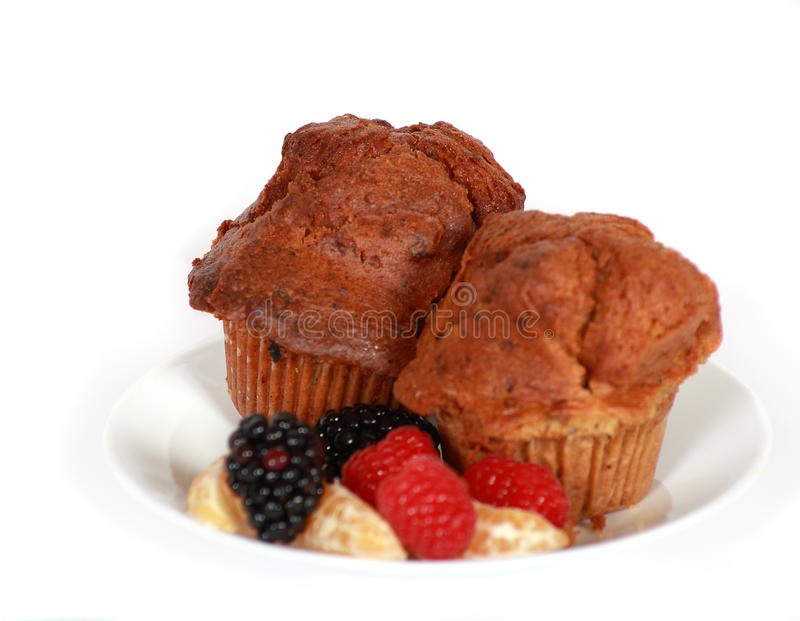 Carrot Muffin Stock Image