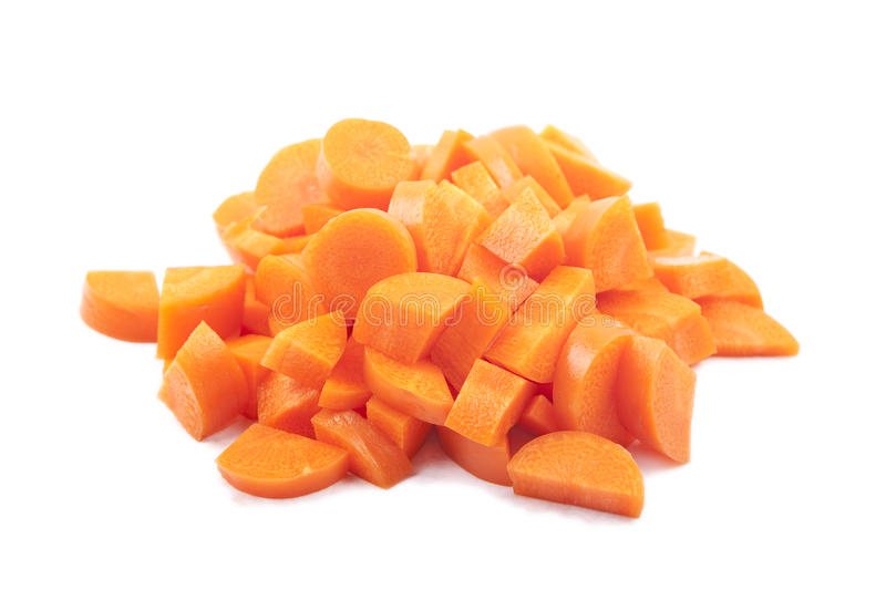 Download Carrot pieces stock photo. Image of color, dieting, delicious - 14860576