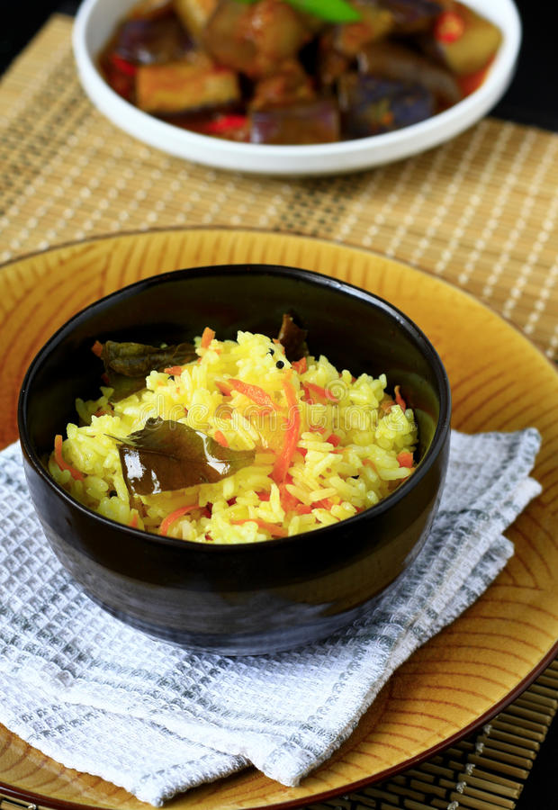 Carrot rice stock photography