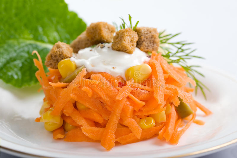 Carrot Salad Royalty Free Stock Images