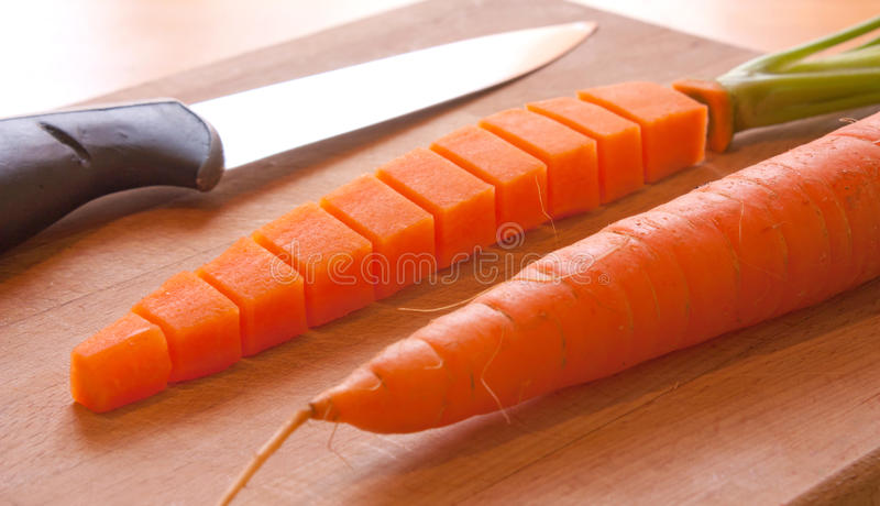 Download Carrot transformation stock image. Image of green, knife - 19552311