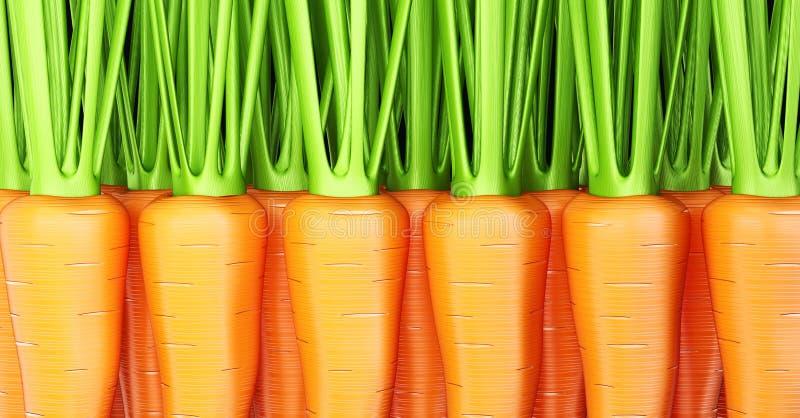 Download Carrots stock illustration. Illustration of piece, cook - 27360791