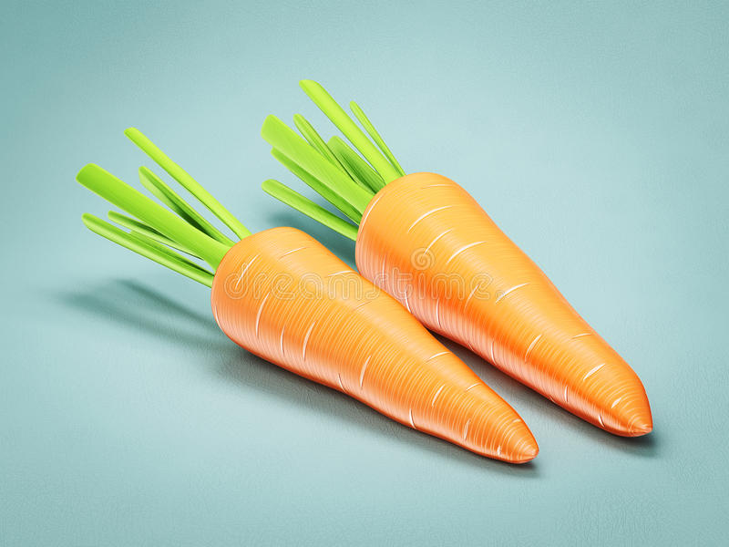 Download Carrots stock illustration. Illustration of healthy, cook - 27360823