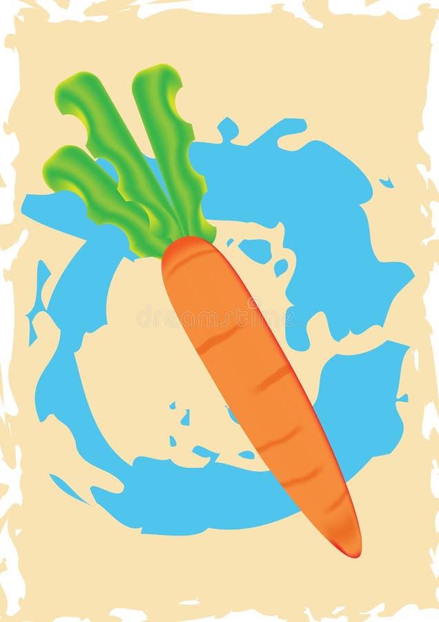 Download Carrots stock illustration. Image of fiber, meal, illustration - 28525636