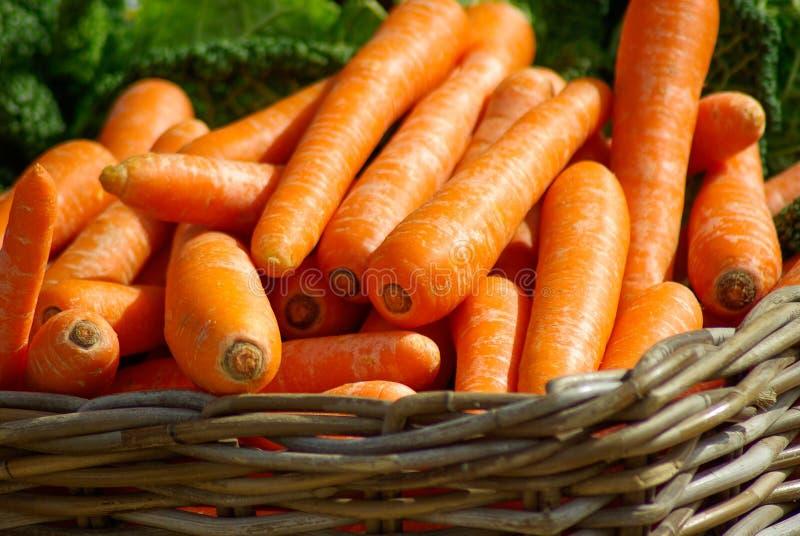 Carrots On Brown Woven Basket Free Public Domain Cc0 Image