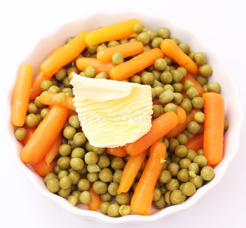 Download Carrots And Peas Royalty Free Stock Photo - Image: 25218865
