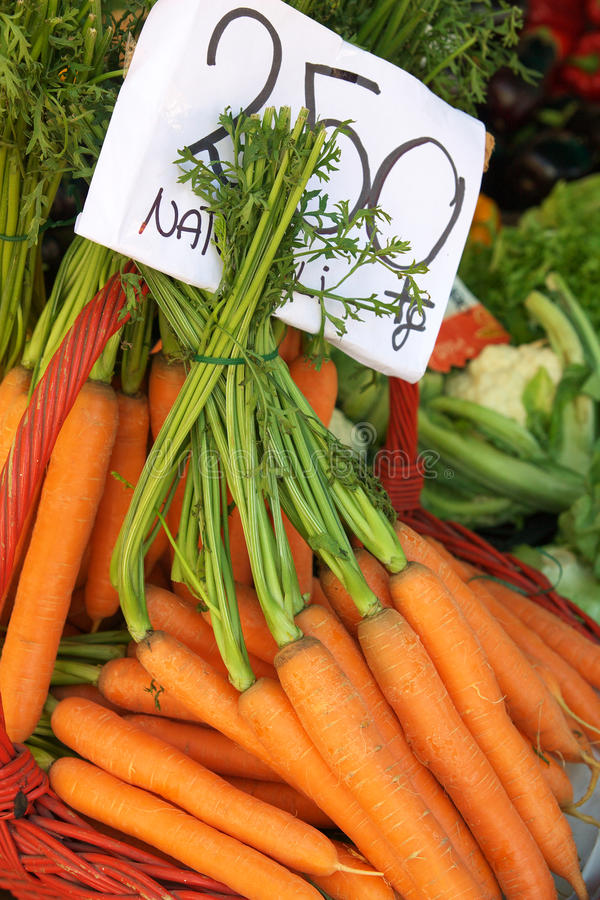 Download Carrots for sale stock photo. Image of retail, vegetables - 16424916