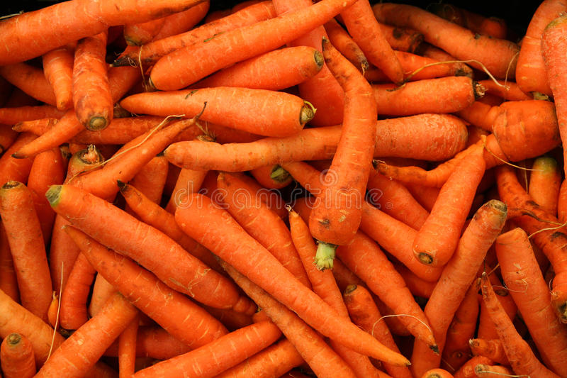 Carrots for sale royalty free stock photos