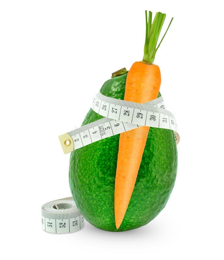 Free Carrots With Avocado Stock Image - 45720741