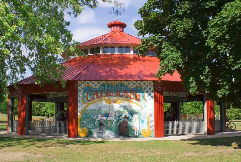Carrousel Arkivbild
