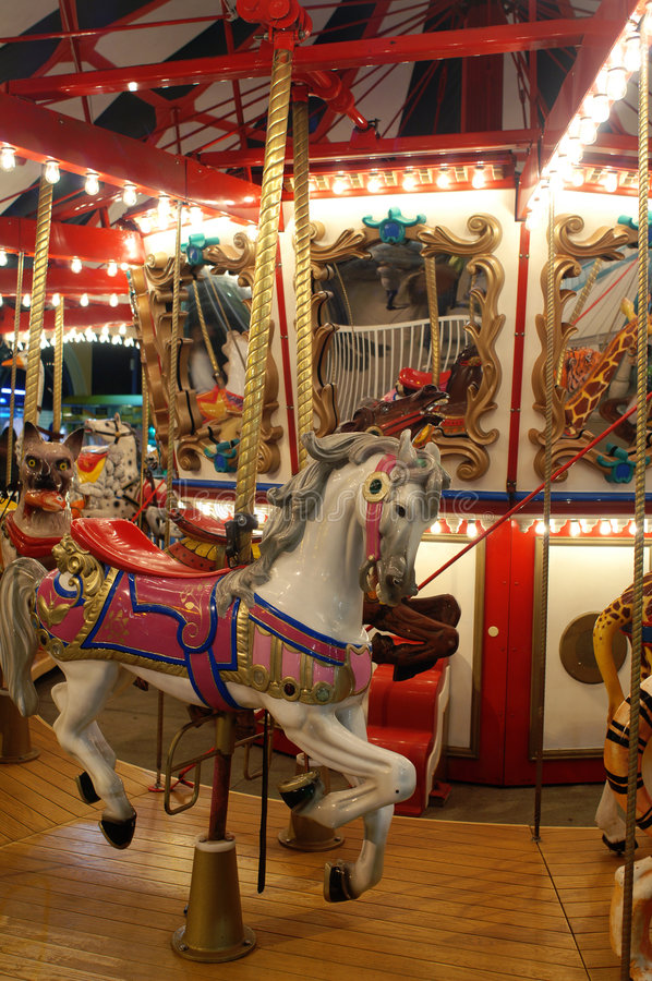 Carrousel stock afbeeldingen