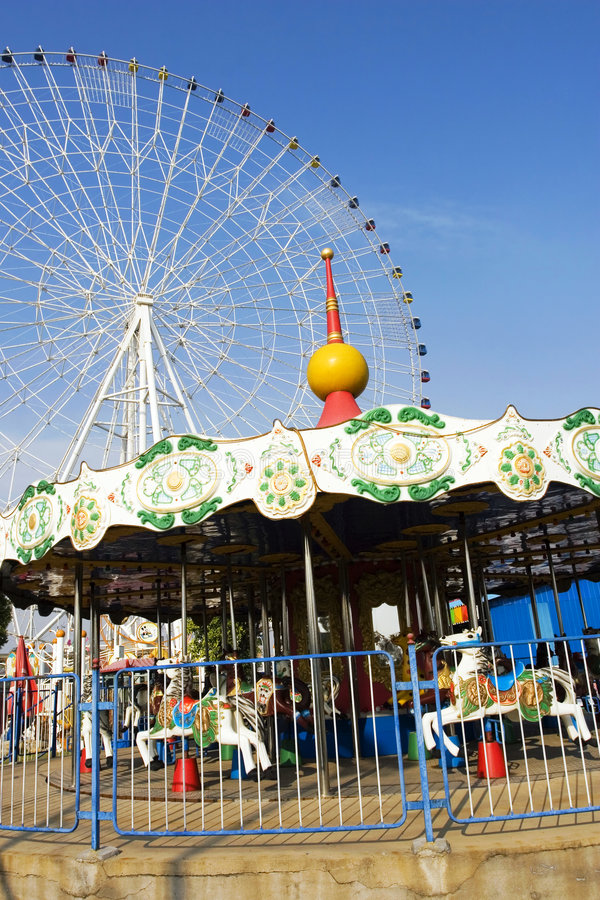Carrousel Royalty Free Stock Photography