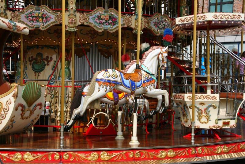 carrousel стоковое изображение rf