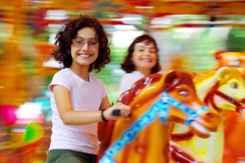 Carrousel royalty-vrije stock afbeeldingen