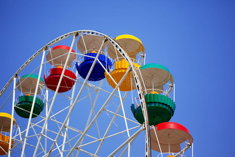 Carrousel coloré lumineux image stock