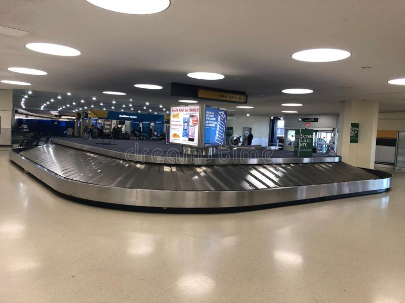 Carrousel de bagage vide photo libre de droits