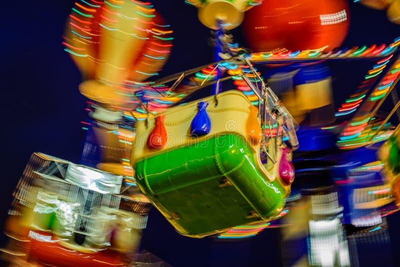 Carrousel de Noël image libre de droits