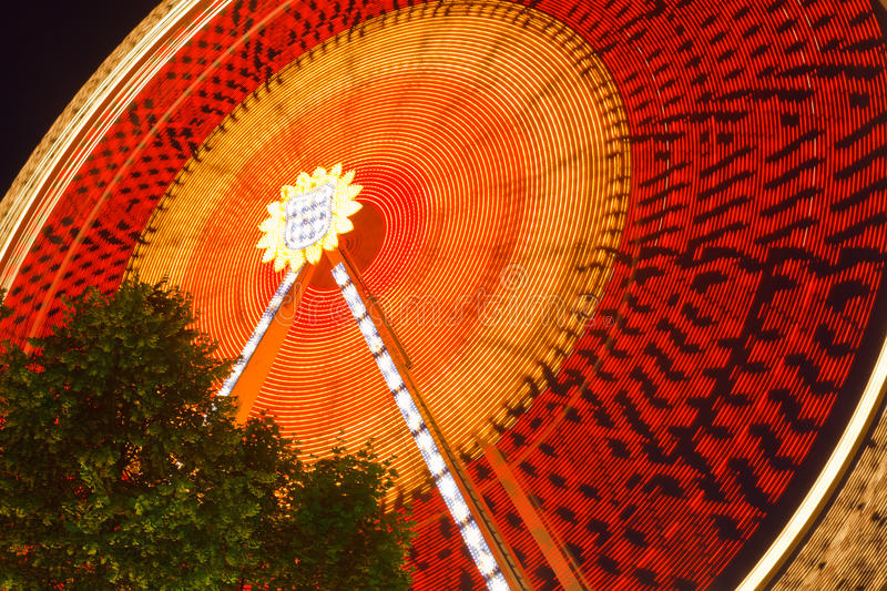 Carrousel mobile photographie stock