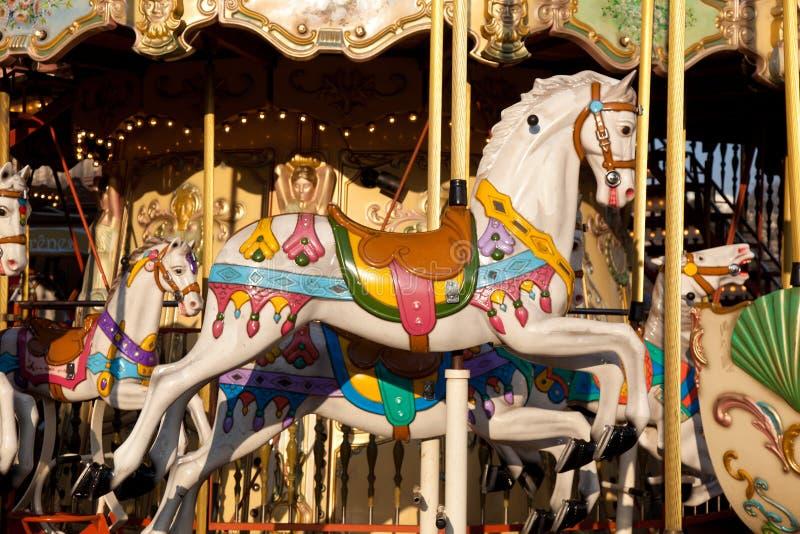Carrousel, Parijs stock foto's