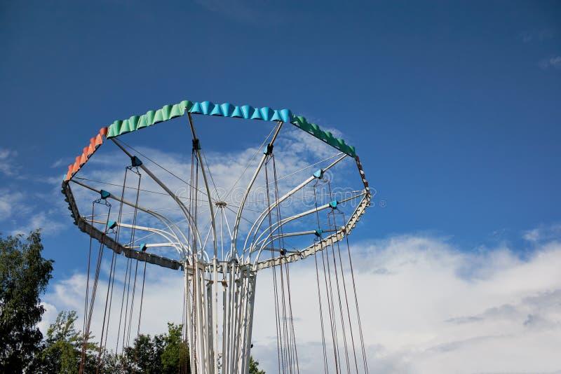 Carrousel in Park royalty-vrije stock foto's