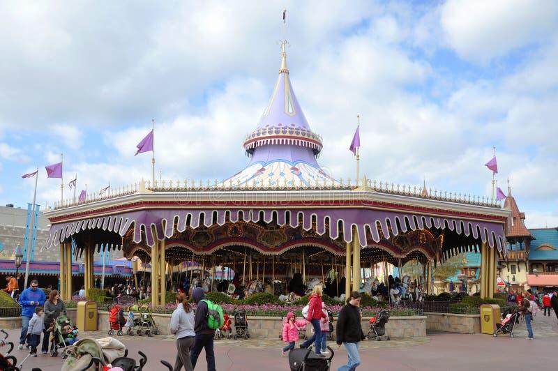 carrousel target365_0_ Disney książe królewskiego świat zdjęcie royalty free
