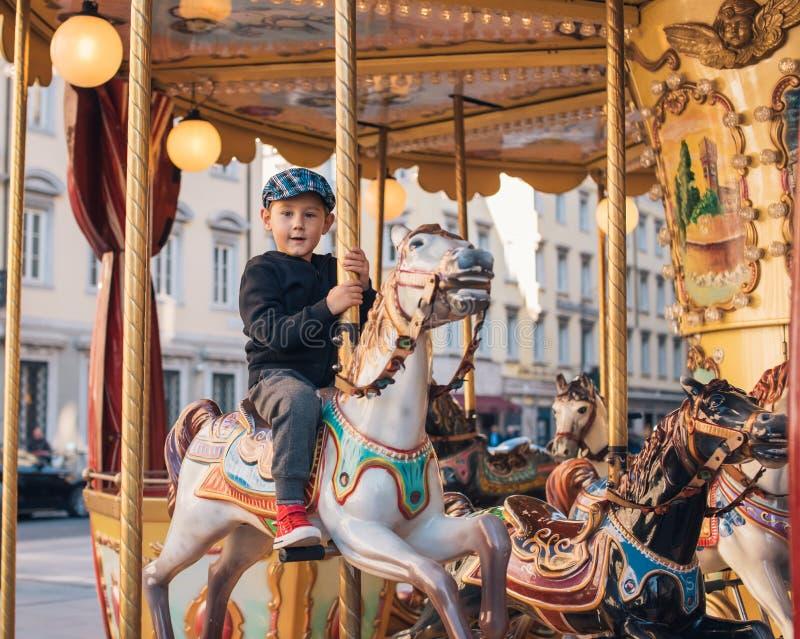 Carrouselrit royalty-vrije stock afbeeldingen