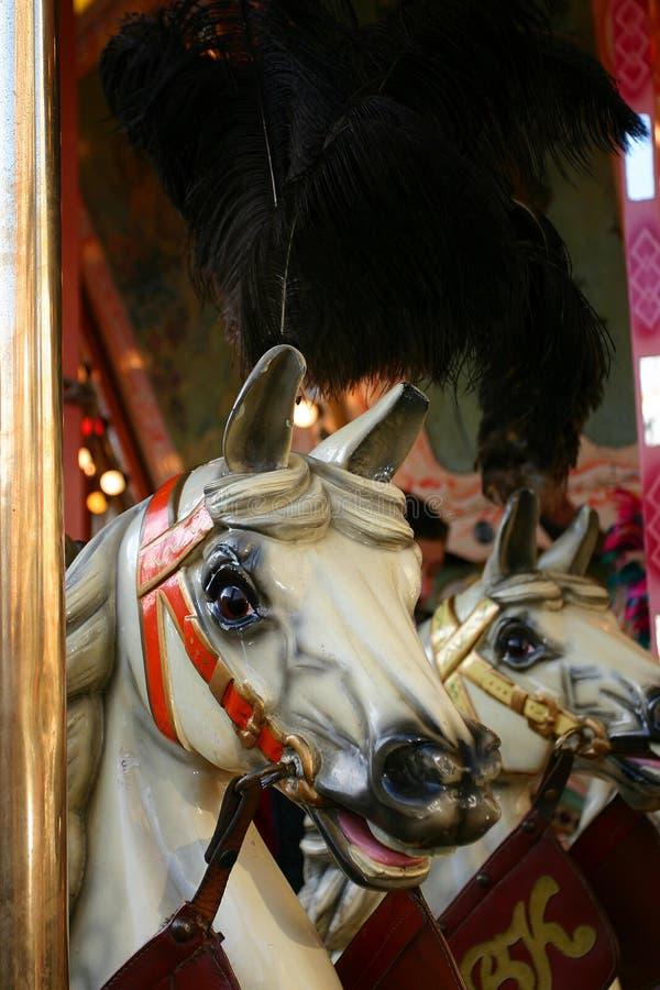 Download Carroussel άλογα στοκ εικόνα. εικόνα από παλαιός, χρυσός - 384081