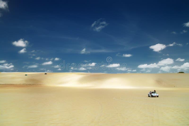 Carrozzini della duna, Natal.Brazil immagine stock