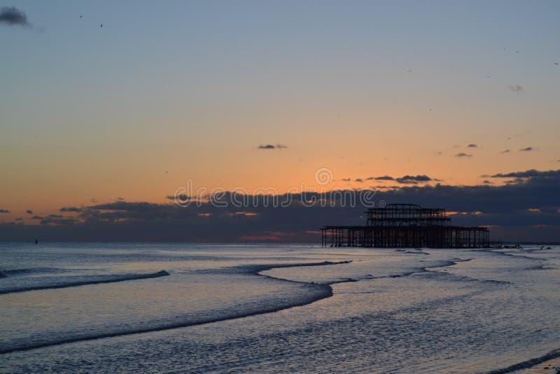 Carrusel de pilier de Brighton photographie stock libre de droits