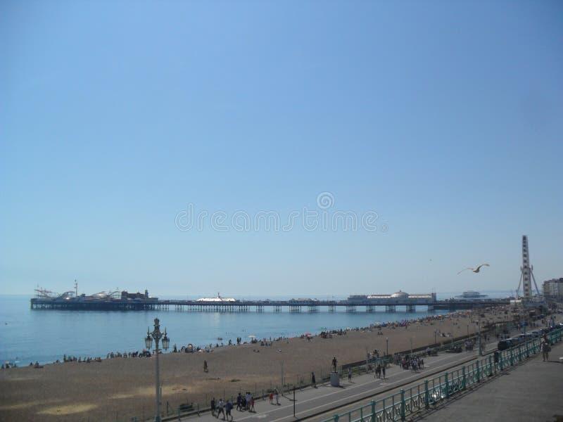 Carrusel de pilier de Brighton images stock