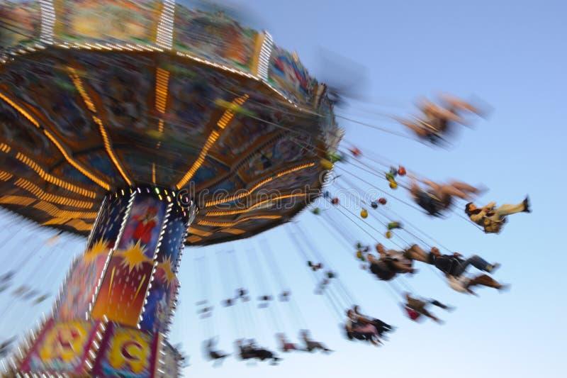 Carrusel en Oktoberfest en Munich foto de archivo libre de regalías