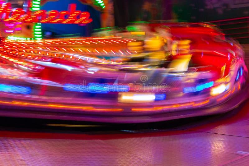Carrusel en una feria en Alemania fotografía de archivo