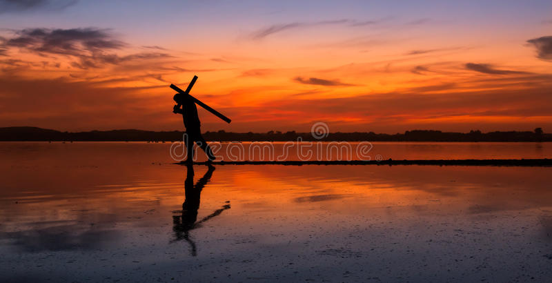 Download Carry Cross of Faith stock photo. Image of christianity - 62332108