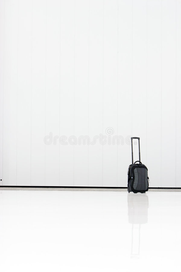 Carry-on luggage royalty free stock images