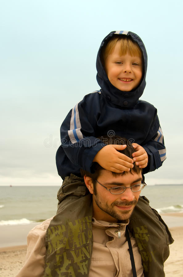 Download Carrying A Boy Royalty Free Stock Photos - Image: 10872478
