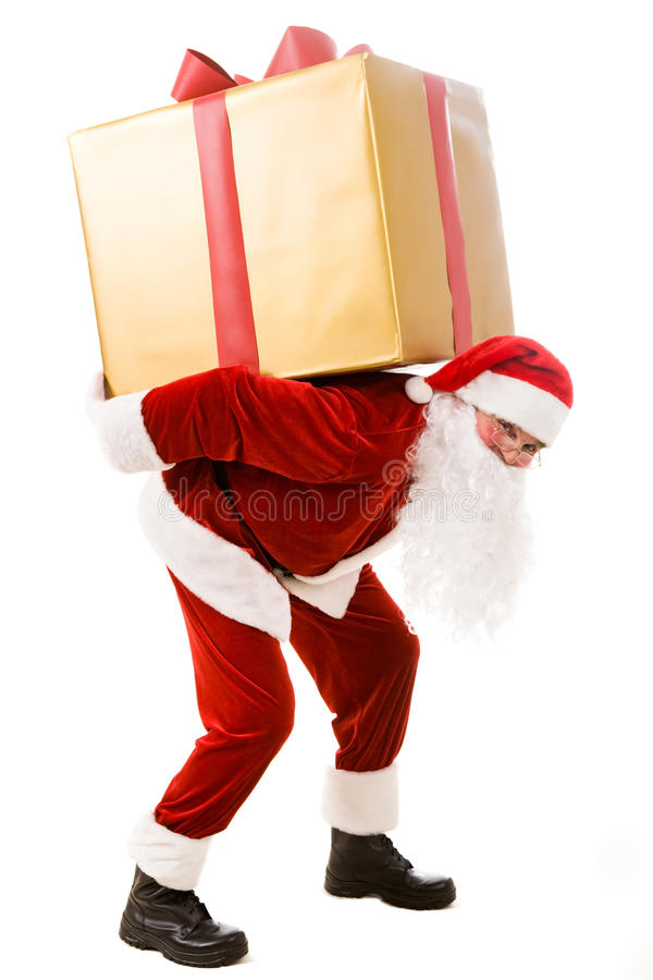 Free Carrying Giftbox Royalty Free Stock Photos - 11748768