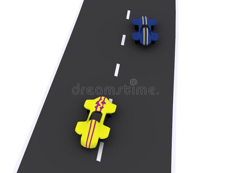Download Cars stock illustration. Illustration of motor, racecar - 13628334