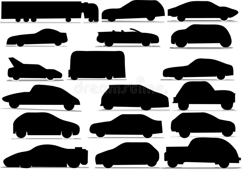 Cars royalty free illustration